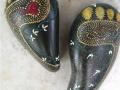 Buddha feet pair