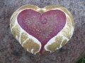 Heart with wings rock