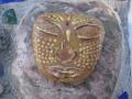 tiki Buddha face